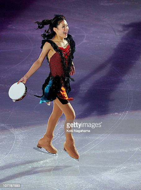 Kanako Murakami performs in the Gala Exhibition the Japan Figure Skating Championships 2010 at Big Hat on December 27, 2010 in Nagano, Japan.