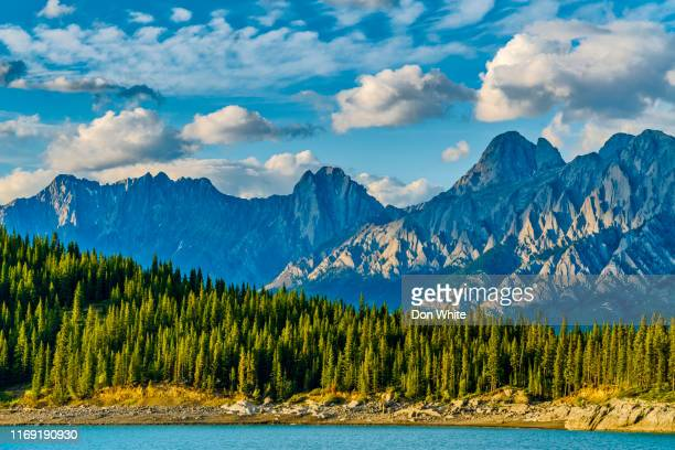 kananaskis provincial park in alberta canada - kananaskis country stock pictures, royalty-free photos & images