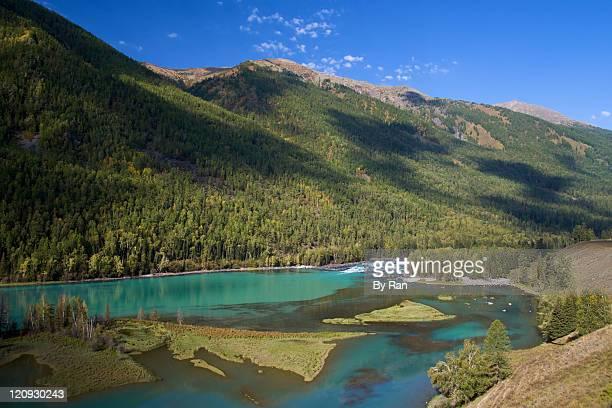 Kanas lake, Aletai, Xinjiang, China
