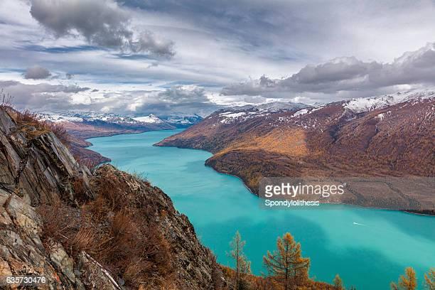 Kanas lake View ,  Xinjiang, China