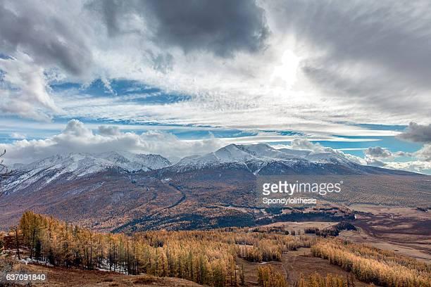 Kanas Mountain View ,  Xinjiang, China