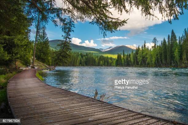 Kanasi or Kanas Lake, Altay, Xinjiang, China