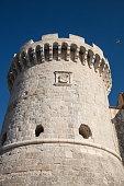 kanavelic tower old town korcula dubrovnikneretva