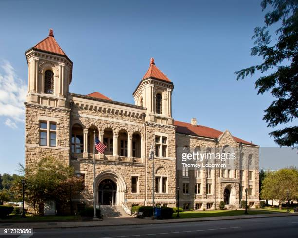 kanawha county courthouse - charleston west virginia stock photos and pictures