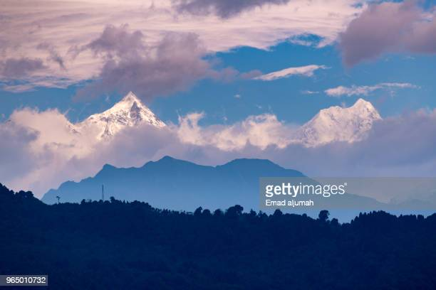 Kanchenjunga mountains range, Sikkim, India