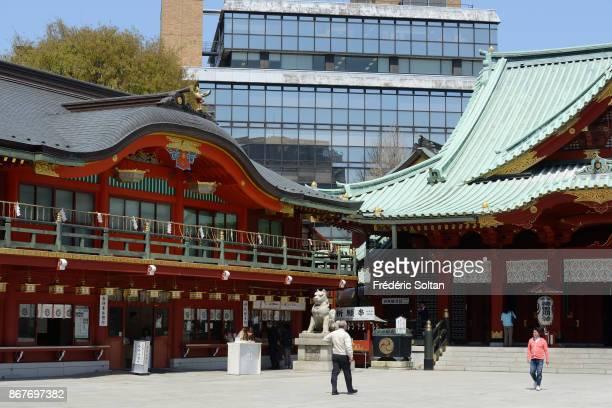 Kanda Shrine in Tokyo Mangas drawn on exvotos in the Kanda Shrine a Shinto shrine located in Chiyoda area on March 20 2015 in Tokyo Japan