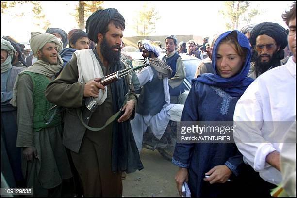 Kandahar Area Taliban Press Conference In 2001 Afghanistan