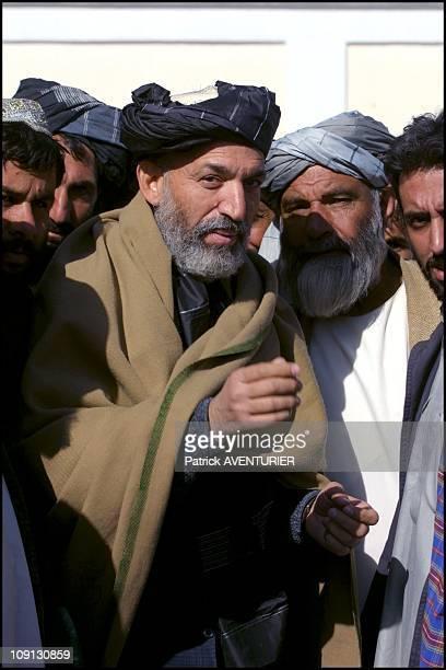 Kandahar Freed At Last After The Escape Of Mullah Omar On November 12Th, 2001 In Kandahar , Afghanistan Prime Minister Designate Hamid Karzai