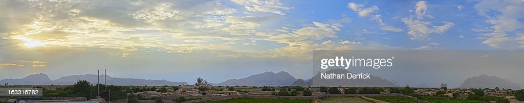 Kandahar Panorama : Stock Photo