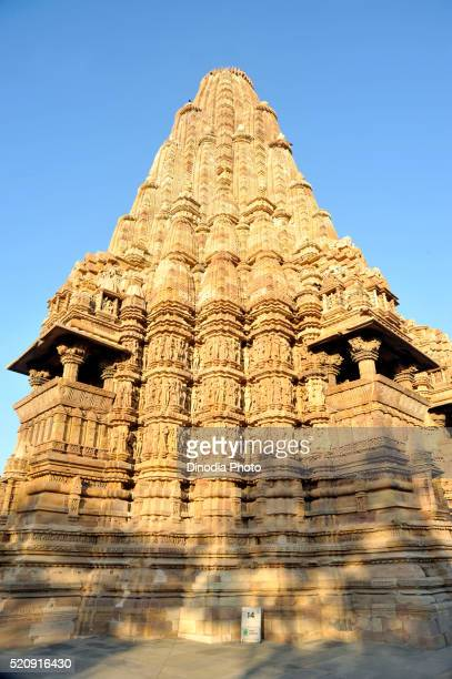 kandariya mahadev temple, western group khajuraho, madhya pradesh, india, asia - khajuraho stock pictures, royalty-free photos & images