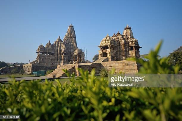 Kandariya Mahadeva Temple the largest temple of the Khajuraho group of monuments a part of UNESCO World Heritage Sites at Khajuraho