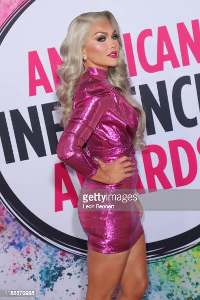 Kandee Johnson attends 2019 American Influencer Awards at Dolby Theatre on November 18 2019 in Hollywood California