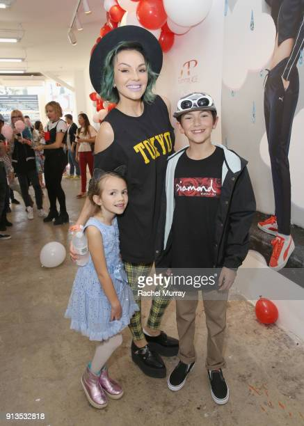 96a5d813d39 Kandee Johnson attends PUMA x Hello Kitty Launch Event At Shoe Palace LA on  February 2
