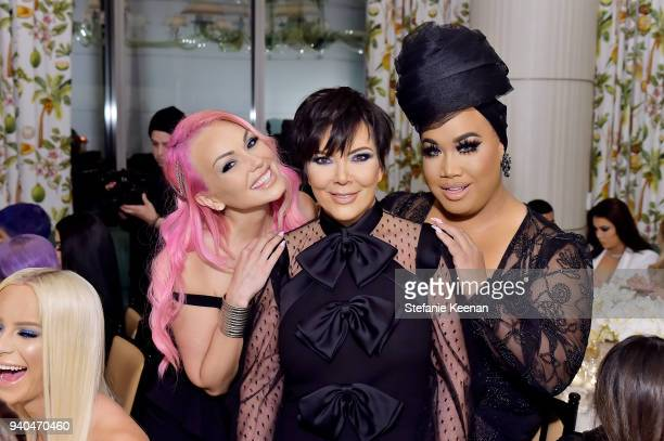 Kandee Johnson Kris Jenner and Patrick Starr attend KKWxMario Dinner at JeanGeorges Beverly Hills on March 31 2018 in Beverly Hills California