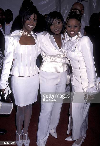 Kandi Burress Tamika Scott and LaTocha Scott of Xscape attend 10th Annual Soul Train Music Awards on March 29 1996 at the Shrine Auditorium in Los...