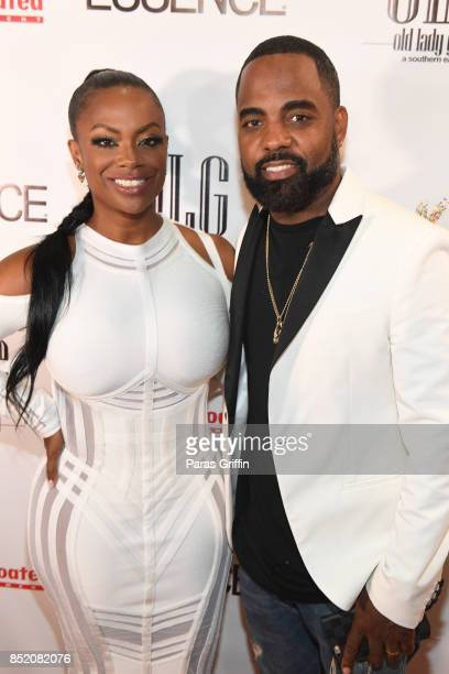 Kandi Burruss and Todd Tucker at Essence Magazine Celebrates October Cover Star Kandi Burruss at Revel on September 22 2017 in Atlanta Georgia