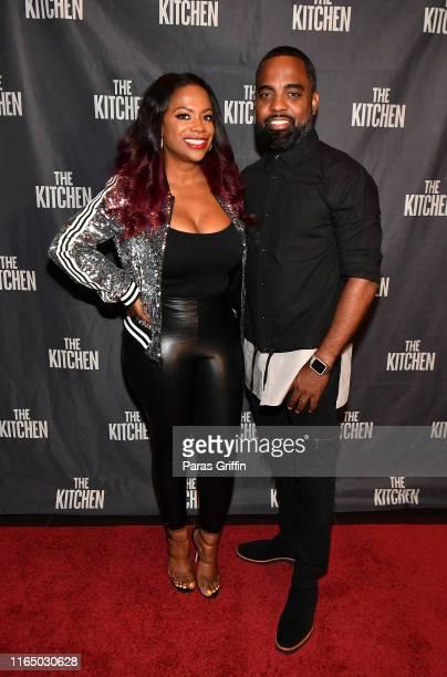 Kandi Burruss and Todd Tucker attend The Kitchen Atlanta screening hosted by Kandi Burruss at Cinebistro on July 29 2019 in Atlanta Georgia