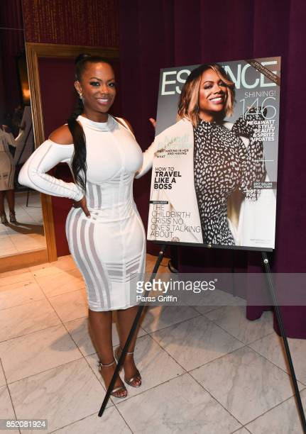 Kandi Burruss at Essence Magazine Celebrates October Cover Star Kandi Burruss at Revel on September 22 2017 in Atlanta Georgia