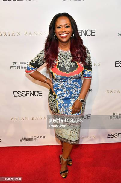 Kandi Burruss attends Brian Banks Atlanta Screening at SCADshow on July 30 2019 in Atlanta Georgia