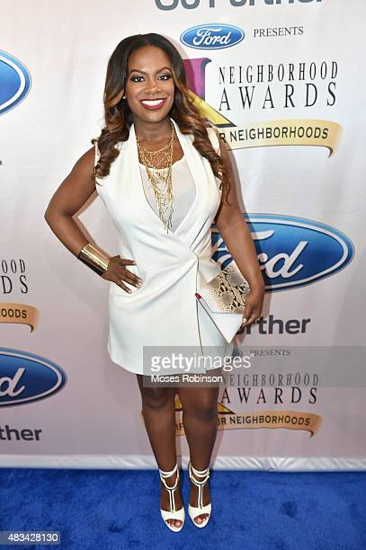 Kandi Burruss attends the 2015 Ford Neighborhood Awards Hosted By Steve Harvey at Phillips Arena on August 8 2015 in Atlanta Georgia