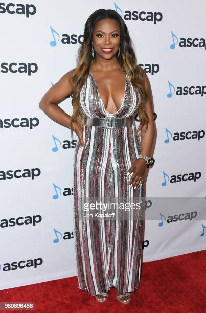 Kandi Burruss attends the 2018 ASCAP Rhythm Soul Music Awards at the Beverly Wilshire Four Seasons Hotel on June 21 2018 in Beverly Hills California