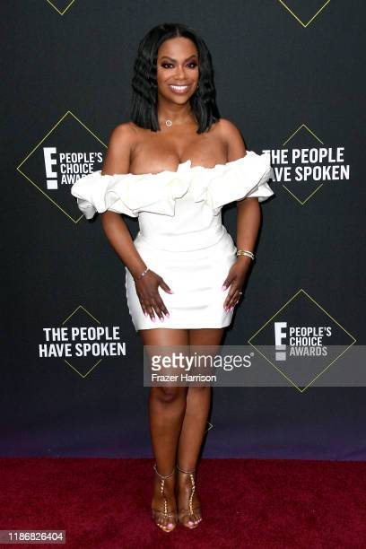 Kandi Burruss attends the 2019 E People's Choice Awards at Barker Hangar on November 10 2019 in Santa Monica California