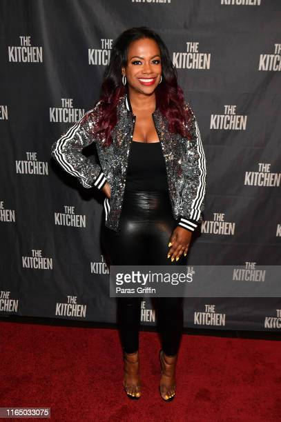 Kandi Burruss attends The Kitchen Atlanta screening hosted by Kandi Burruss at Cinebistro on July 29 2019 in Atlanta Georgia