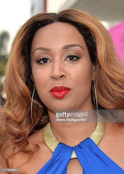 Kandy Isley attends Debra Lee's PreBET Awards Celebration Dinner at Milk Studios on June 29 2013 in Los Angeles California