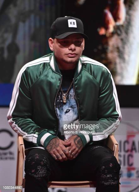Kane Brown attends the 2018 American Music Awards Nominations Announcement at YouTube Space LA on September 12 2018 in Los Angeles California