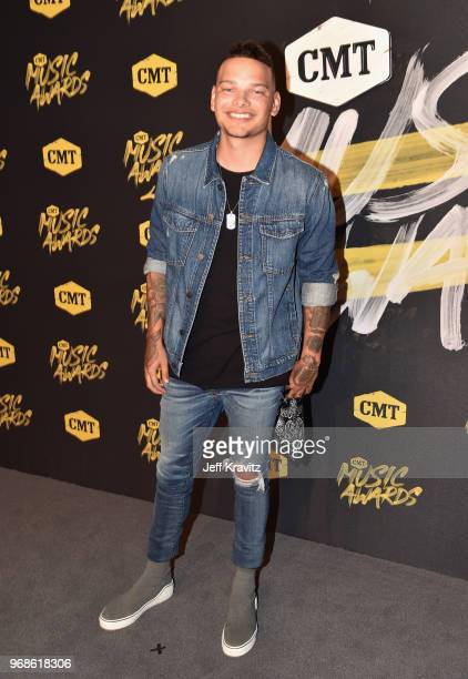 Kane Brown attends the 2018 CMT Music Awards at Nashville Municipal Auditorium on June 6 2018 in Nashville Tennessee