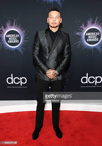Kane Brown attends the 2019 American Music Awards at Microsoft Theater on November 24 2019 in Los Angeles California