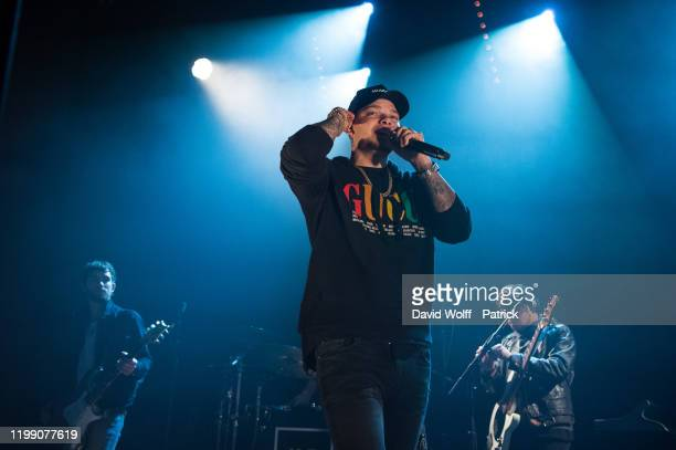 Kane Brown performs at L'Alhambra on February 6, 2020 in Paris, France.