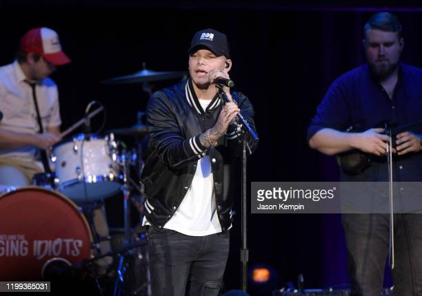Kane Brown performs at the Bobby Bones The Raging Idiots' 5th Annual Million Dollar Show at Ryman Auditorium on January 13 2020 in Nashville Tennessee