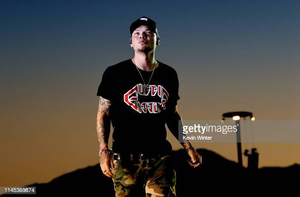 Kane Brown performs onstage during the 2019 Stagecoach Festival at Empire Polo Field on April 26 2019 in Indio California
