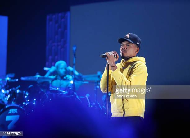 Kane Brown performs onstage with Marshmello during the 2019 iHeartRadio Music Festival at TMobile Arena on September 21 2019 in Las Vegas Nevada