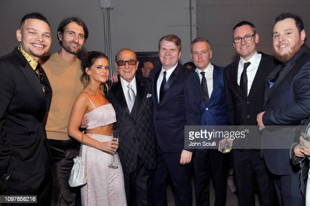Kane Brown Ryan Hurd Maren Morris Clive Davis CEO of Sony Music Entertainment Rob Stringer Chairman CEO of Sony Music Nashville Randy Goodman...