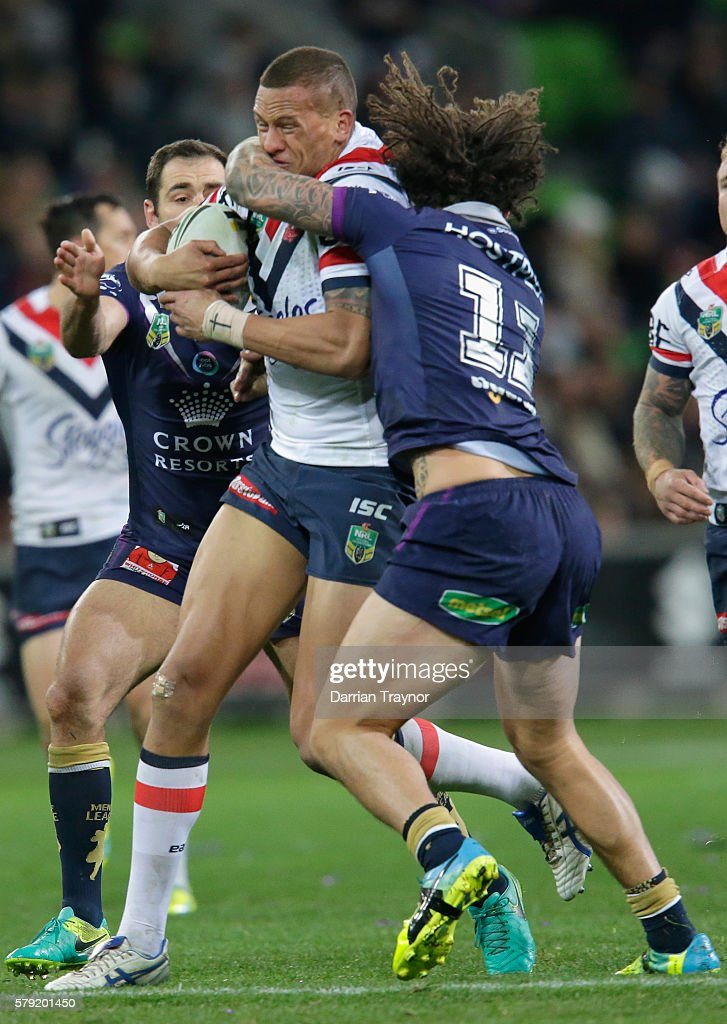 NRL Rd 20 - Storm v Roosters : News Photo