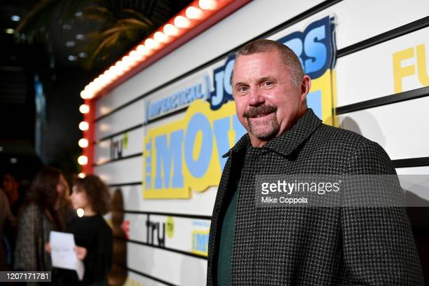 Kane Hodder attends the Impractical Jokers The Movie Premiere Screening and Party on February 18 2020 in New York City 739100