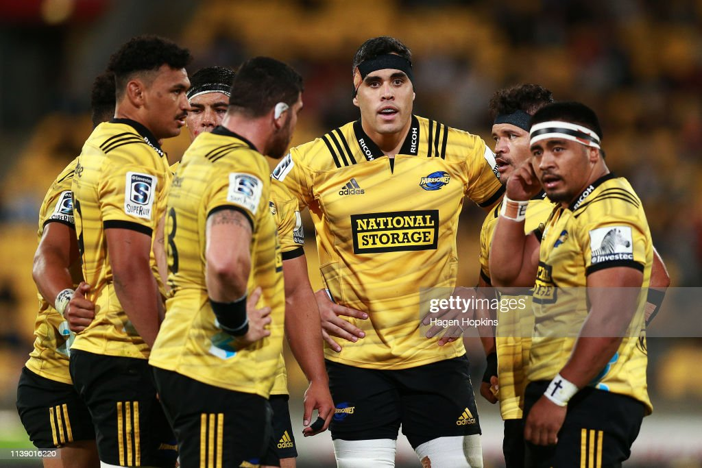 Super Rugby Rd 7 - Hurricanes v Crusaders : News Photo