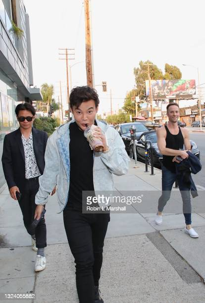 """Kane Lim of """"Bling Empire"""" attends Kyle Chan's Retail Store Opening at Kyle Chan Design on June 16, 2021 in Los Angeles, California."""