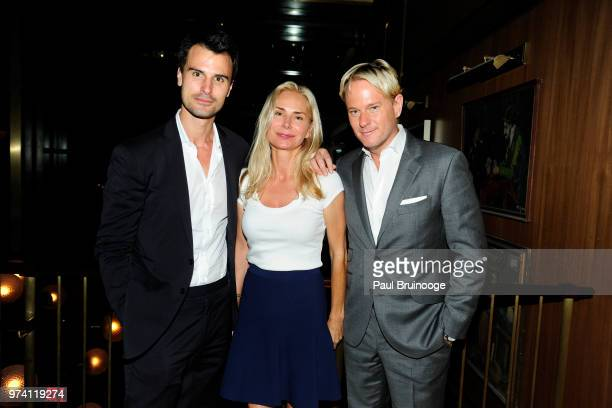 Kane Manera Valesca Guerrand and Daniel Benedict attend MarVista Entertainment And Parkside Pictures With The Cinema Society Host The After Party For...