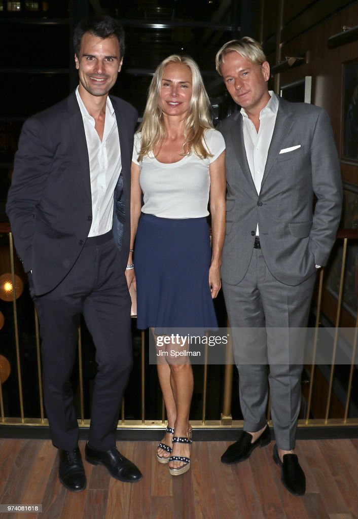 Kane Manera, Valesca Guerrand-Hermes and Daniel Benedict attend the screening after party for 'The Year Of Spectacular Men' hosted by MarVista Entertainment and Parkside Pictures with The Cinema Society at Legacy Records on June 13, 2018 in New York City.