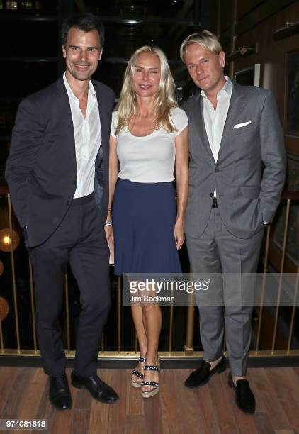 Kane Manera Valesca GuerrandHermes and Daniel Benedict attend the screening after party for 'The Year Of Spectacular Men' hosted by MarVista...