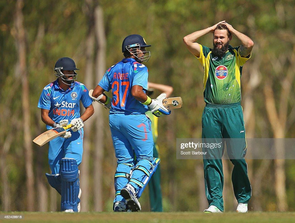 Australia A v India A