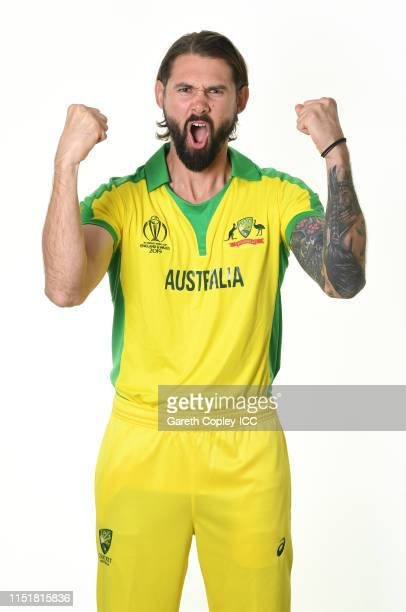 Kane Richardson of Australia poses for a portrait prior to the ICC Cricket World Cup 2019 at on May 26, 2019 in Southampton, England.