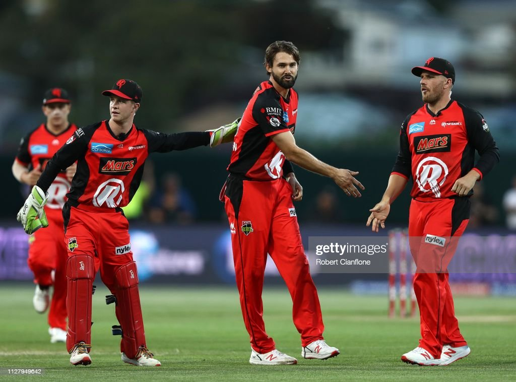 BBL - Hurricanes v Renegades : News Photo