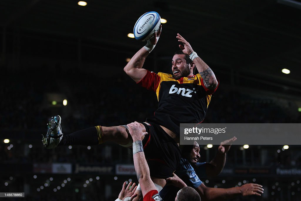 Super Rugby Rd 15 - Blues v Chiefs : News Photo