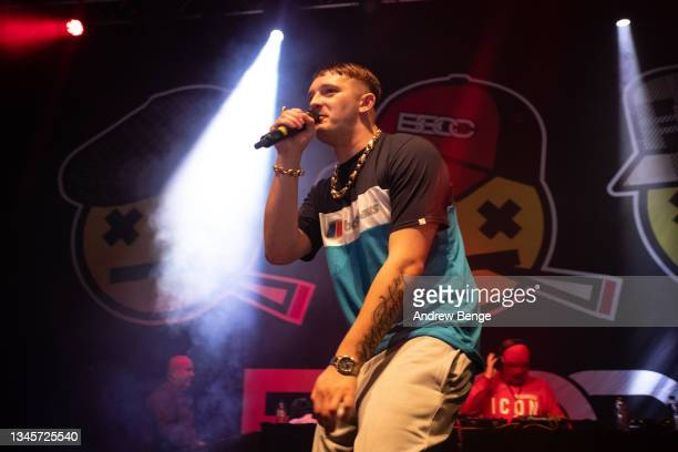 Kane Walsh of Bad Boy Chiller Crew performs at O2 Academy Leeds on October 09, 2021 in Leeds, England.