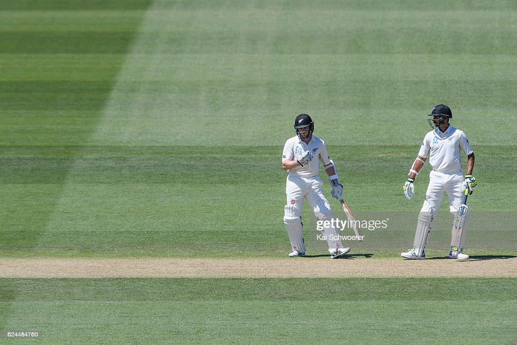 New Zealand v Pakistan - 1st Test: Day 4
