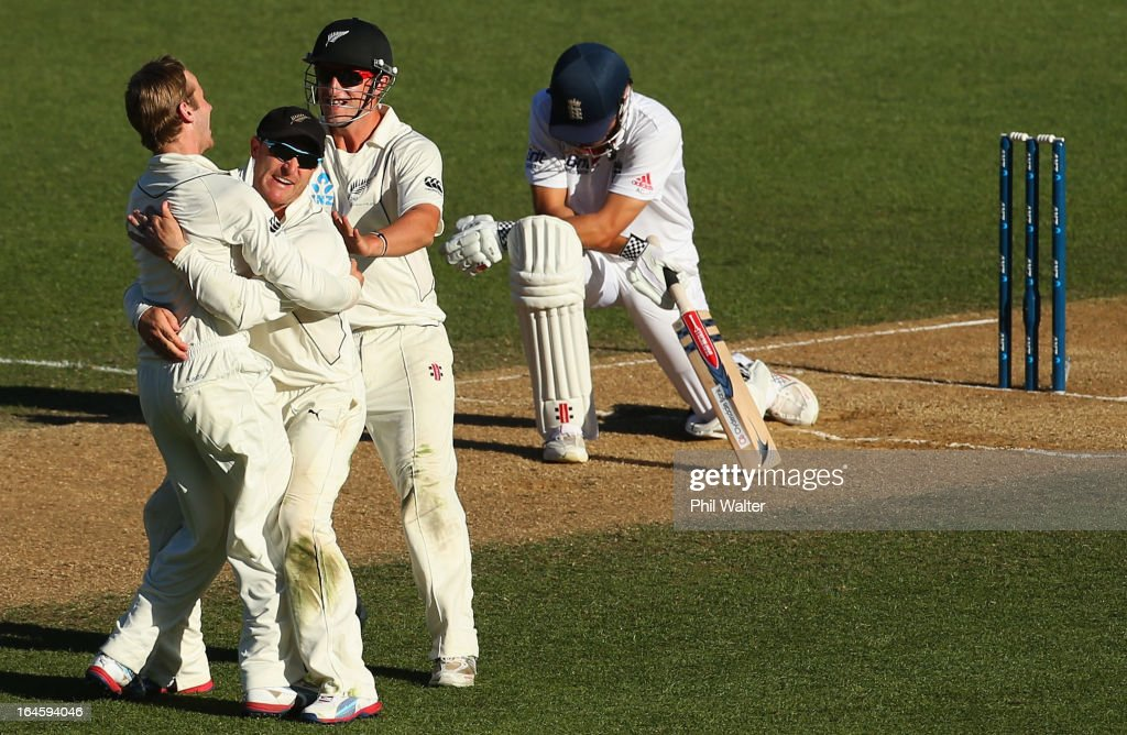 New Zealand v England - 3rd Test: Day 4